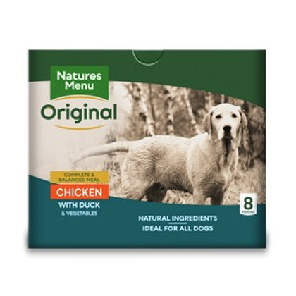 Natures Menu Dog Pouch Adult Chicken & Duck - 8 Pack