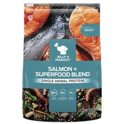 Billy and Margot Salmon Superfood Dry Dog Food 9kg