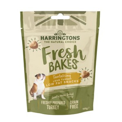 Harringtons Fresh Bakes Low Fat Snacks 100g