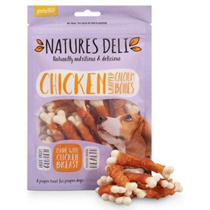 Natures Deli Chicken Wrapped Calcium Bone 100g