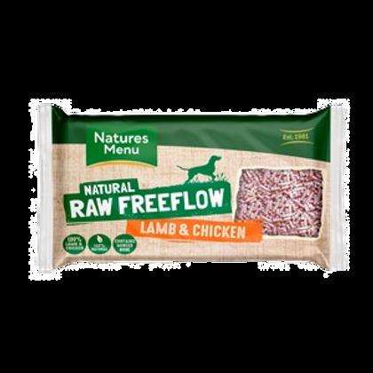Natures Menu Frozen Freeflow Lamb & Chicken Dinner 2kg