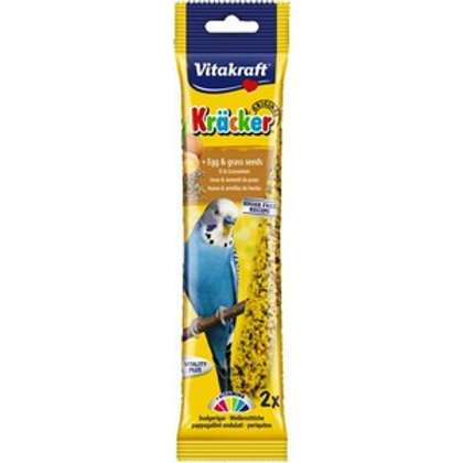 Vitakraft Budgie Kracker Egg & Grass Seeds