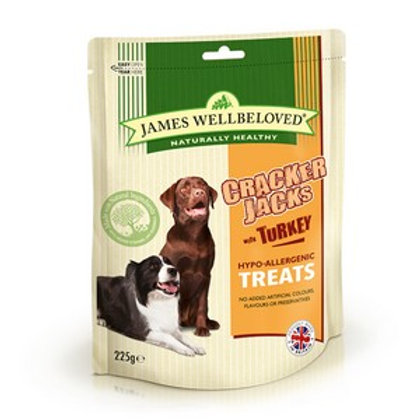 Wellbeloved Crackerjacks Turkey 225g