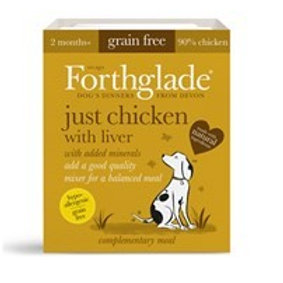 Forthglade Just chicken with liver (395g)