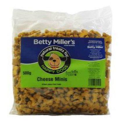 Betty Millers Gluten Free Cheese Mini Treats 500g