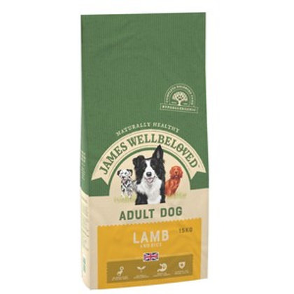 Wellbeloved Lamb and Rice Adult 15kg