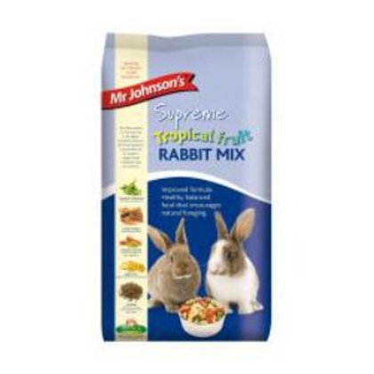Mr Johnsons Supreme Tropical Fruit Rabbit Mix 15kg