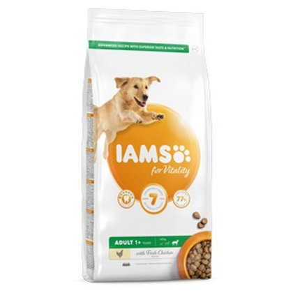 Iams Vitality Adult Large Dog Fresh Chicken 12kg