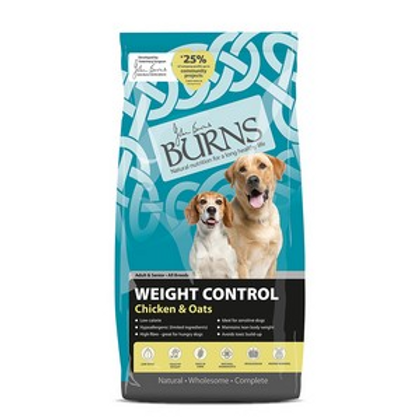 Burns Adult Weight Control Chicken and Oats 12kg