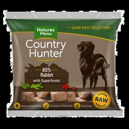 Natures Menu Frozen Country Hunter Rabbit Dog Nuggets 1kg