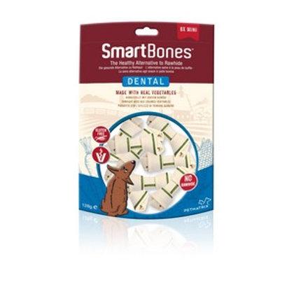 SmartBones Dental Mini Bones (8 Pack)