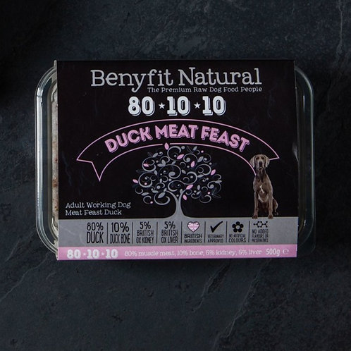 Benyfit 80*10*10 Duck Meat Feast - 1kg