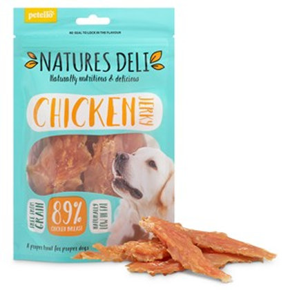 Natures Deli Chicken Jerky 100g