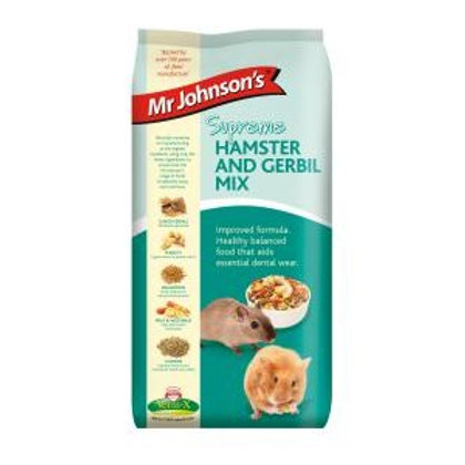 Mr Johnsons Supreme Hamster and Gerbil Mix 900g