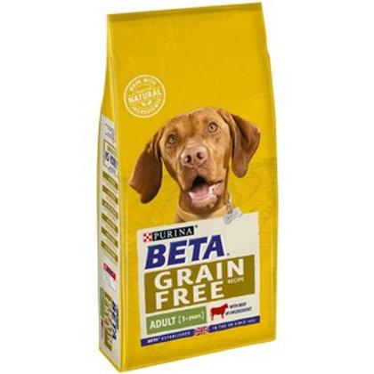 BETA Grain Free Adult Beef 10kg