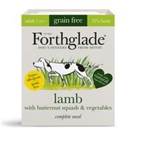 Forthglade Lamb with butternut squash & vegetables (395g)