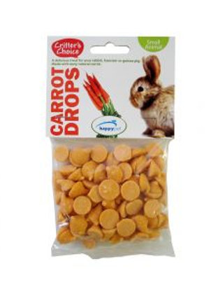 Critter's Choice Carrot Drops 75g
