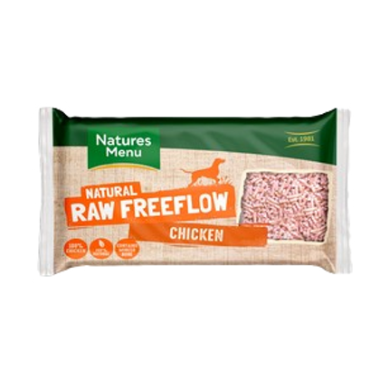 Natures Menu Frozen Freeflow Chicken 2kg