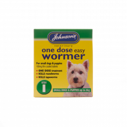 One Dose Easy Wormer – Size 1