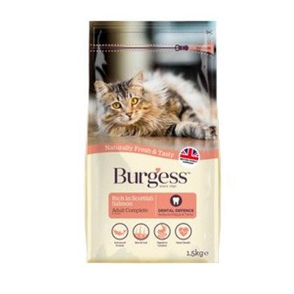 Burgess Adult Cat Scottish Salmon 1.5kg