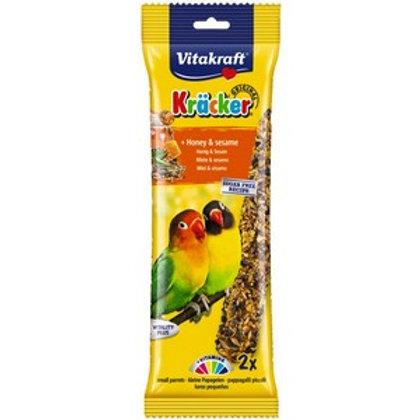 Vitakraft Kracker Honey & Sesame Lovebirds