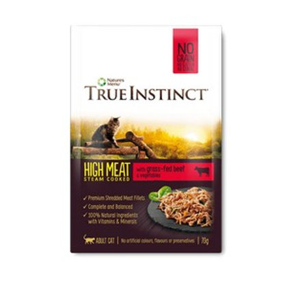 True Instinct Pouch Beef Fillet Cat 70g