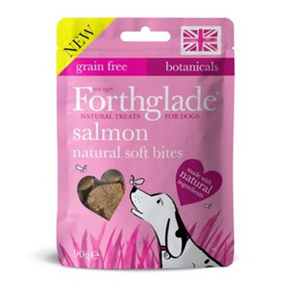Forthglade Soft Bites Treats salmon Grain Free 90g