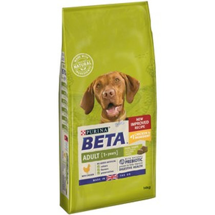 BETA Adult Dry Dog Food with Chicken 14kg