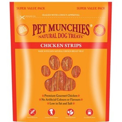 Pet Munchies Chicken Strips 320g