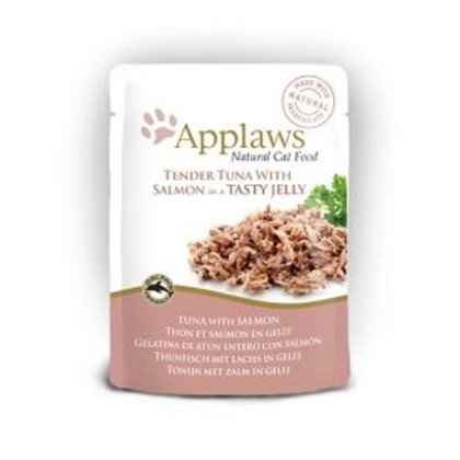 Applaws Cat Pch Tuna With Meat and Salmon In Jelly 70g