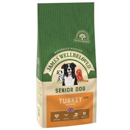 Wellbeloved Turkey and Rice Senior 2kg