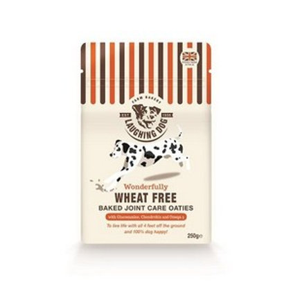 Laughing Dog Wheat Free Joint Care Oaties Salmon 250g