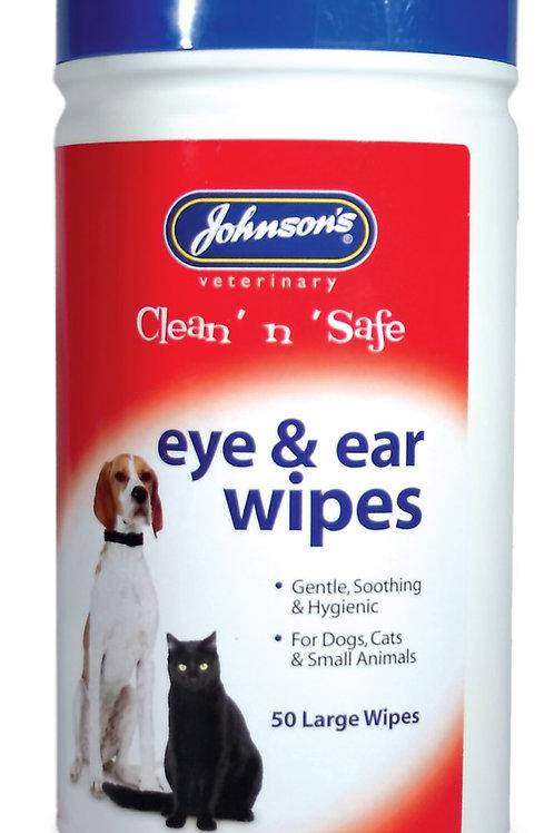 Johnsons Ear & Eye Wipes
