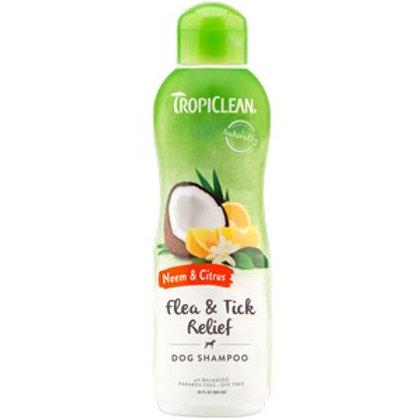 TropiClean Neem and Citrus Shampoo 592ml