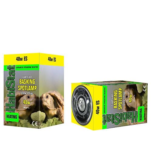 Habistat Basking Bulb - Screw Fit - 40 watt