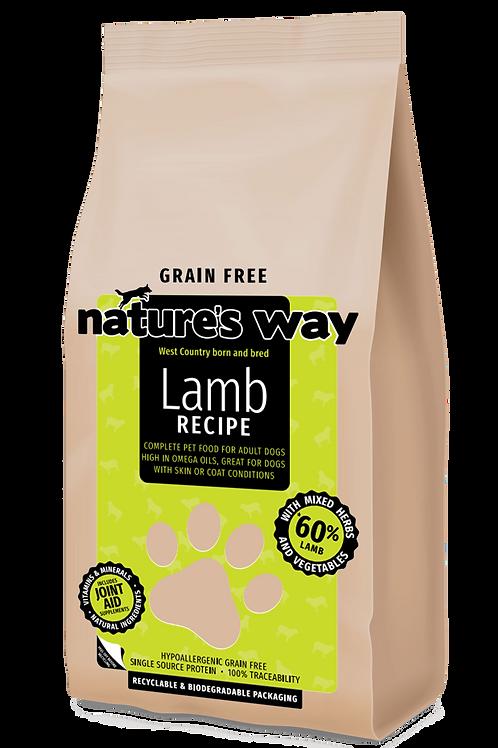 2kg Nature's Way GRAIN FREE Lamb Recipe