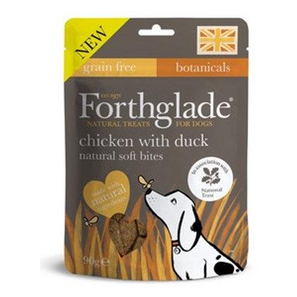 Forthglade Soft Bites Treats Chicken & Duck 90g