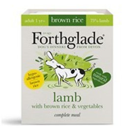 Forthglade Lamb with brown rice & vegetables (395g)