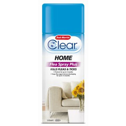 Home Flea Spray Plus with IGR 500ml