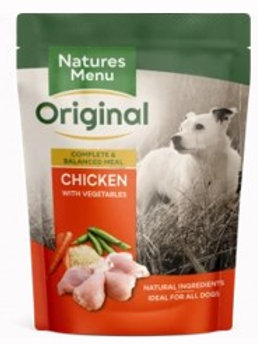 Natures Menu Dog Pouch Adult Chicken