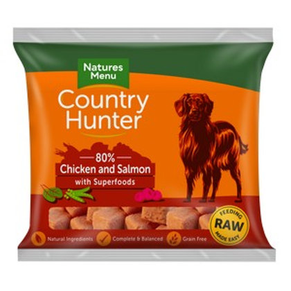 Natures Menu Frozen Country Hunter Salmon Dog Nuggets 1kg