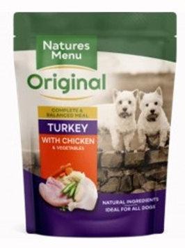 Natures Menu Dog Pouch Adult Chicken & Turkey