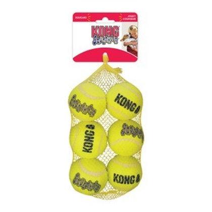 KONG Squeaker Air Balls Medium 6 Pack