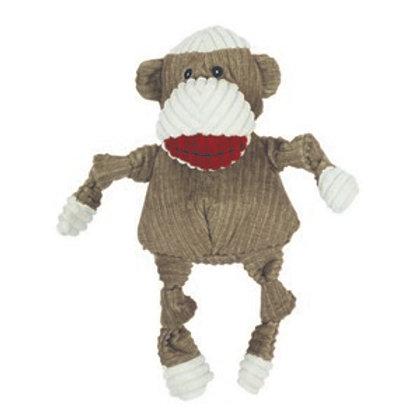 HuggleHounds Plush Sock Monkey Knottie Large