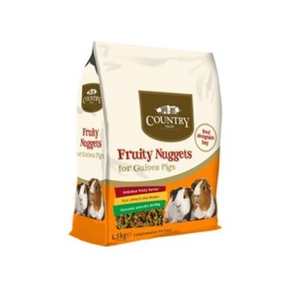 Country Value Guinea Pig Nuggets 1.5kg