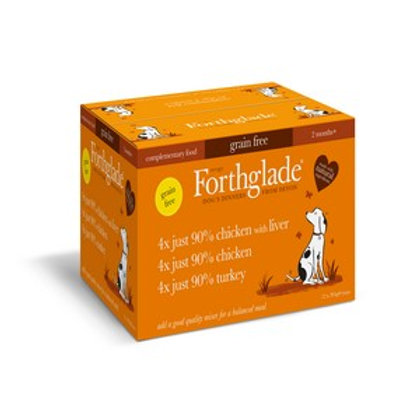 Forthglade Adult MultiPack Poultry 12 x 395g