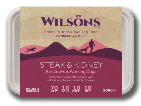 Wilsons Steak & Kidney 500g