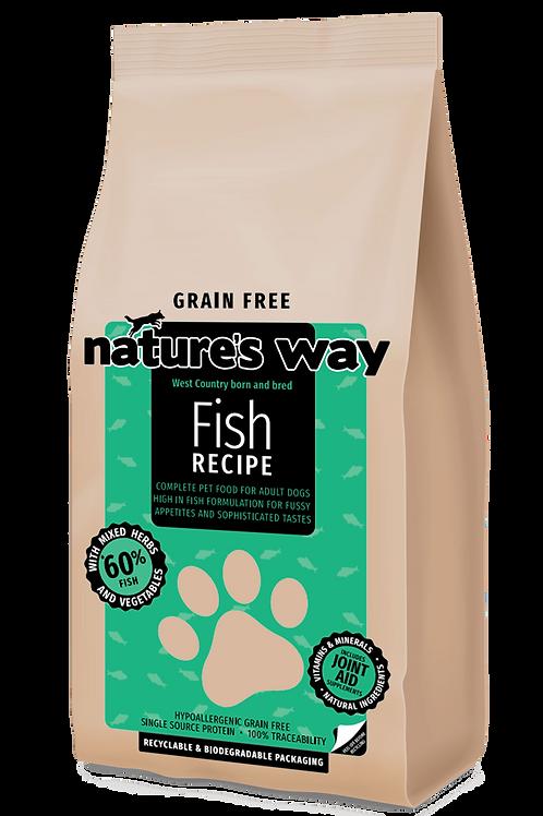 2kg Nature's Way GRAIN FREE Fish Recipe