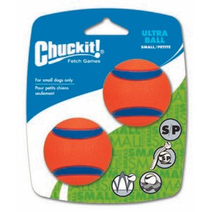 Chuckit Ultra Ball 2 Pack Small 4.8cm