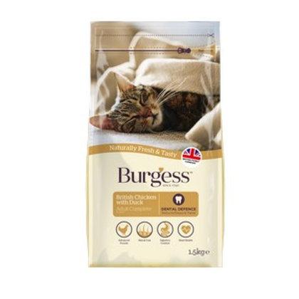 Burgess Adult Cat Chicken & Duck 1.5kg